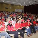 Candidatos del PSUV y educadores